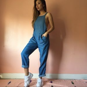 Nasty Gal Chambray Overalls